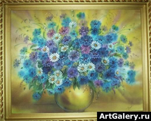 Полевые цветы бондаренко о www artgalery ru