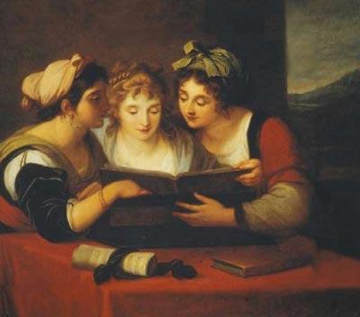 Ангелика Кауфман.Три певицы, 1796