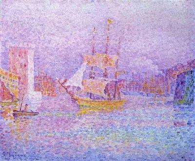 Синьяк.Порт в Марселе, 1906