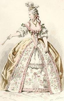 Женские платья 17 18 веков