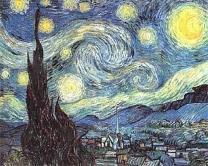Винсент Ван Гог. Звездная ночь. Сен-Реми